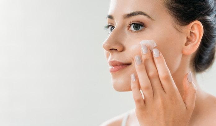 taking care of skin