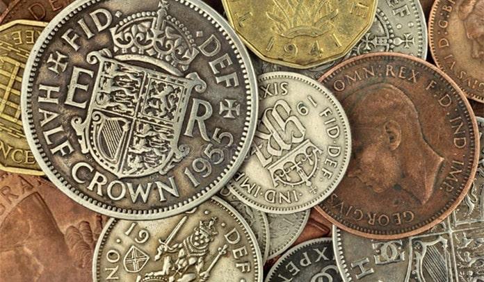 Old British Money