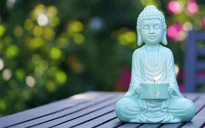 pick garden buddha statue